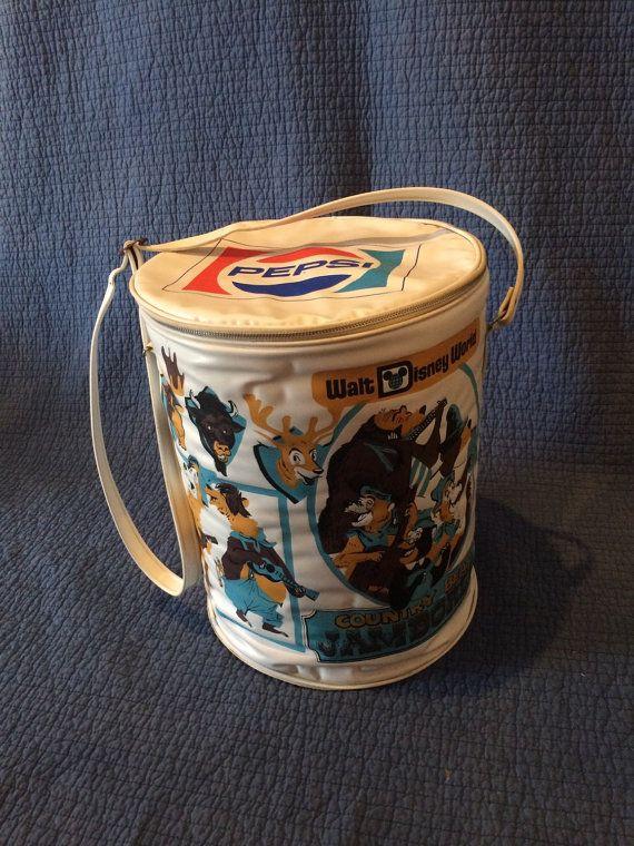 Rare Pepsi/Disney couche glacière/Vintage Pepsi refroidisseur/Vintage Disney/Country Bear Jamboree