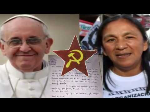 Pogaństwo - Szaman Bergoglio/ antypapież/odprawia magiczne rytuały w Wat...