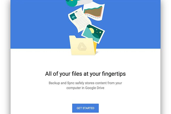 how to place google drive on desktop