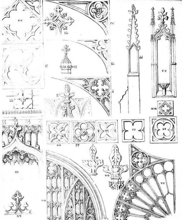 gothic architecture elements - 600×724