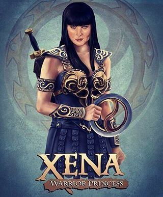 Xena Warrior Princess Fan Art #lucylawless #geeky