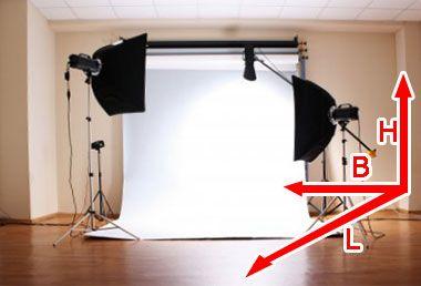 DIY Home Fotostudio: welche Voraussetzungen sollte ein Raum für ein Fotostudio zu Hause erfüllen? Tips und Rat hier!