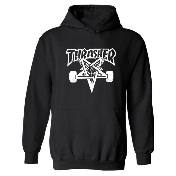 Thrasher Magazine Hoodie Hip Hop Men Trasher Skateboard Hoodies and Sweatshirts Hooded Mens Pullover Hoodies Men Online Order – Wallreview Online Store