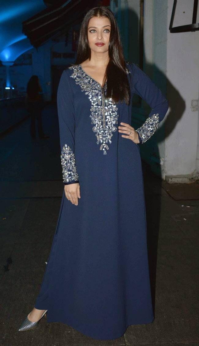 Aishwarya Rai Bachchan at the wrap-up bash of #Jazbaa. #Bollywood #Fashion #Style #Beauty #Hot #Desi