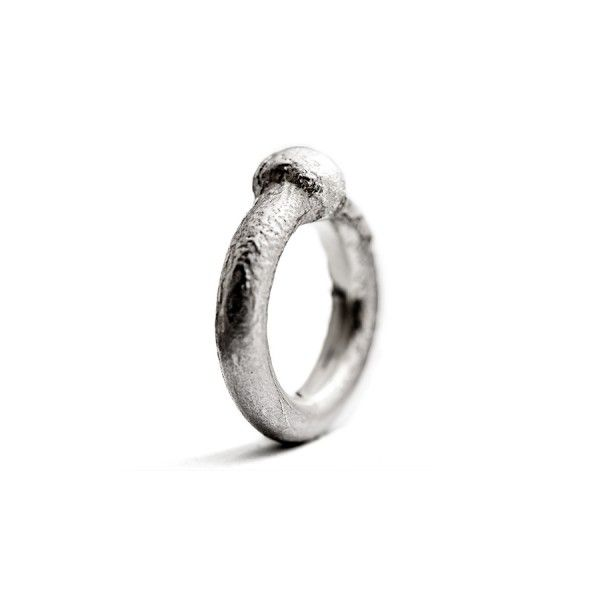 'BOL' massive silver ring from the jewellery label JUWEELTJES