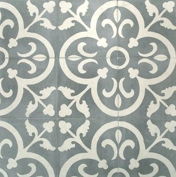 Concrete Tile - unique patterns and colors ... concrete tile can be hard to find, but it is a lovely addition to a modern home | Arketype.us