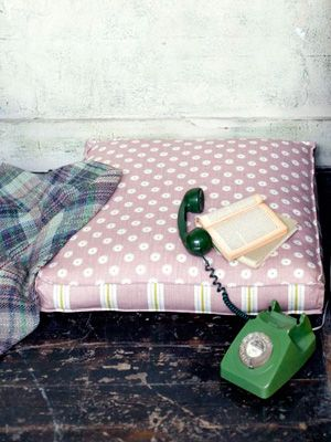 Great British Sewing Bee free floor cushion pattern - Craft - allaboutyou.com