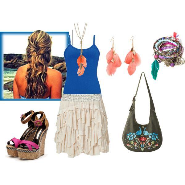 Simple Summer, created by susie-crank: Pretty Beachy, Teen Fashion, Sexy Stylish, Summer Style, Fashion Inspiration, Simple Summer, Beautiful Art, Fantasy Closet