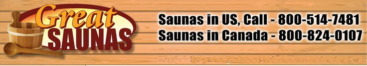 100+ HOME SAUNA KITS - 60+ Dry Sauna Kits, 46 Infrared Saunas - GREAT SAUNAS