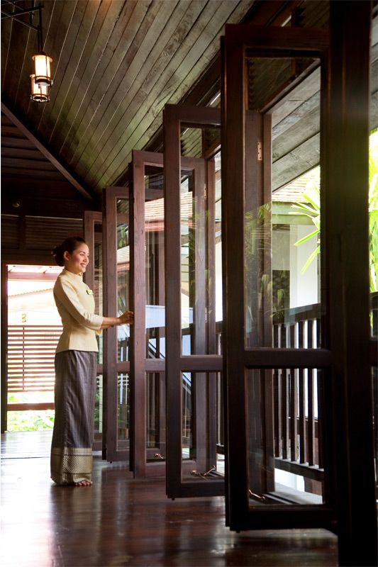Come into RarinJinda Wellness Spa Resort Chiang Mai, Thailand