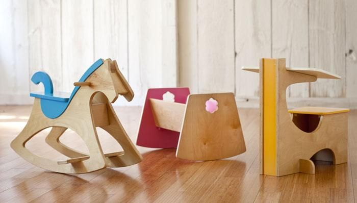 Build these modern updates of classic children's wooden toys for your favorite little girl or boy. They're so cool, you'll want to build all three.   Skill level: Intermediate