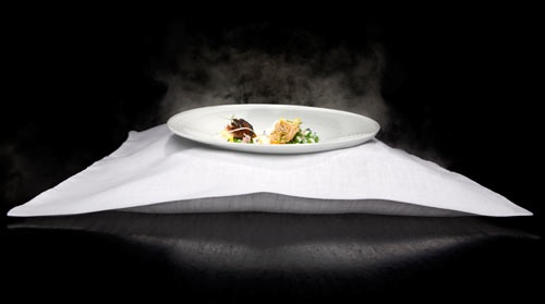 Vapor Pillow English Peas From Chef Grant Achatz Chef