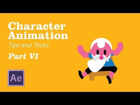 Character Animation in AfterEffects - Tips&Tricks Chapter 6 - YouTube