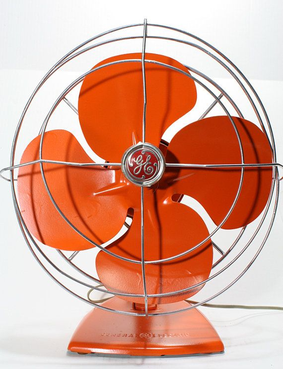 Rare vintage General Electrics fan . We collect similar ones – Only/Once – www.onlyonceshop.com