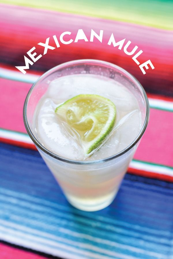 I heart anything with ginger beer.  Mexican Mule cocktail. Lime, ginger beer, tequila, yum. // www.cupcakesandcutlery.com
