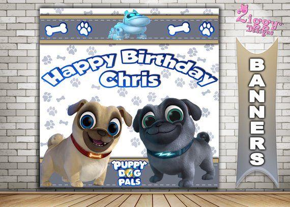 Puppy Dog Pals Puppy Dog Pals Birthday Backdrop Puppy Dog Pals Birthday Banner Puppy Dog Pals P Birthday Backdrop Birthday Decorations Kids Dogs And Puppies