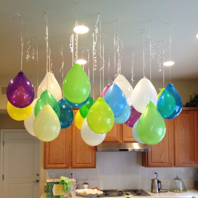 Balloon decoration ideas without helium pixshark