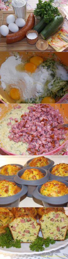 Овощные кексы/Сайт с пошаговыми рецептами с фото для тех кто любит готовить