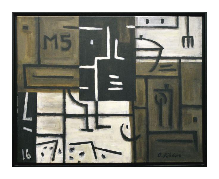 """Oscar Ribeiro """"Bodegón M5"""" Acrílico sobre tela 65 X 81 cm. Año 2016"""