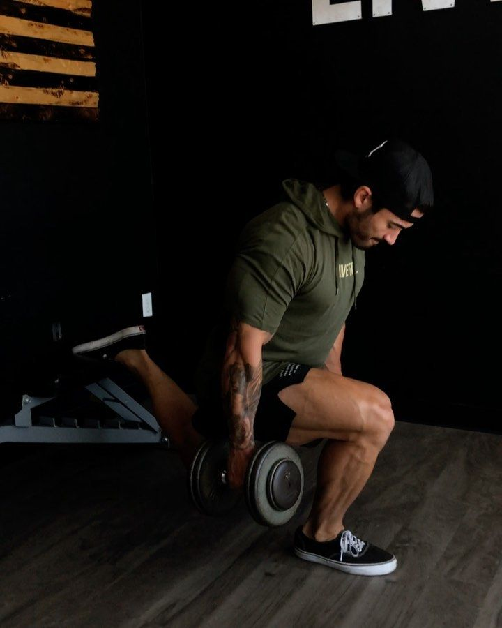 Joe Andrews On Instagram Dumbbell Legs Gym Home Save Tag A Friend Turn On My Post Notifications Save This Workout For You Dumbbell Workout Gym