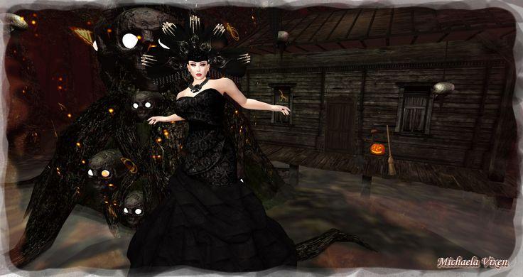 https://flic.kr/p/MFJANk   Michaela - Gothic Halloween - Scene 1 (1)   Gothic Halloween - Scene 1  Location: Vixen's Creative Studios Photographer & Model: Michaela Vixen (VampBait69) Set Design & Creation: Michaela Vixen (VampBait69)  Vixen's Log - More Info & Credits Here