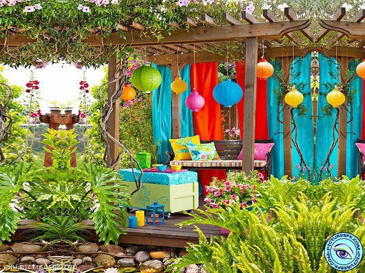 18 diy summer party decorations dad 39 s surprise 60th for Outdoor summer decorating ideas