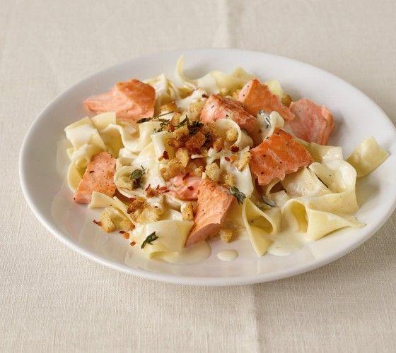 Lachs-Pasta - Nudeln mit Lachs - 3 - [ESSEN & TRINKEN]