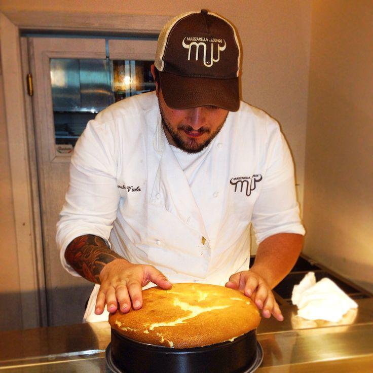 Io Chef di Muu Danilo Viola  E la nostra NY cheese Cacke  Appena Sfornata