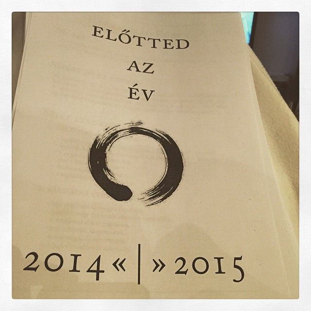 """2014 OFF. #eviranytu #yearcompass #mogottedazev #elottedazev #theyearahead #evrendezes #yearplanning"""