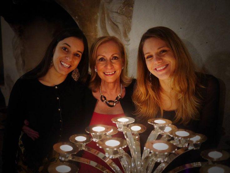 The Jewels of Allegrini.  Caterina Mastella Allegrini, Marilisa Allegrini, and Carlotta Mastella.  Beautiful women