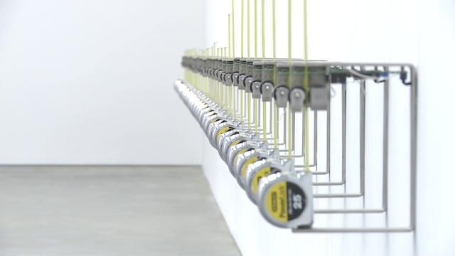 """""""Tape Recorders"""" - MCA Sydney (2011) by Rafael Lozano-Hemmer by bitforms gallery. """"Tape Recorders,"""" 2011"""
