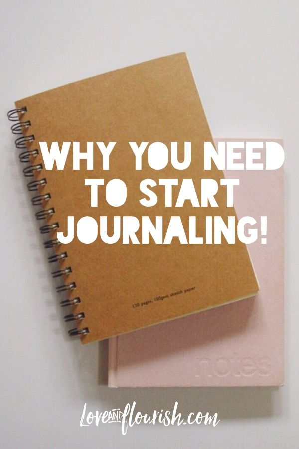 Blog post! Why you need to start journaling! Writing down your thoughts, feelings, ideas goals has so many great benefits! Love and Flourish