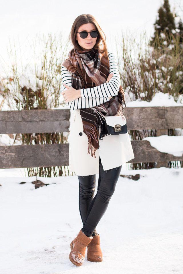 Stylish+Ways+to+Wear+Uggs+This+Winter