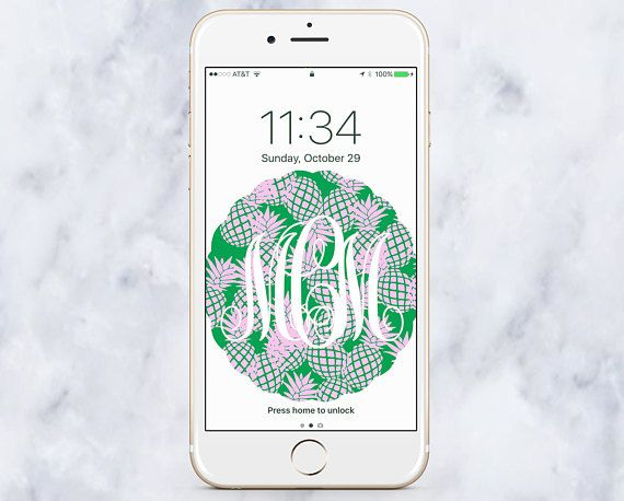 how to make a monogram background