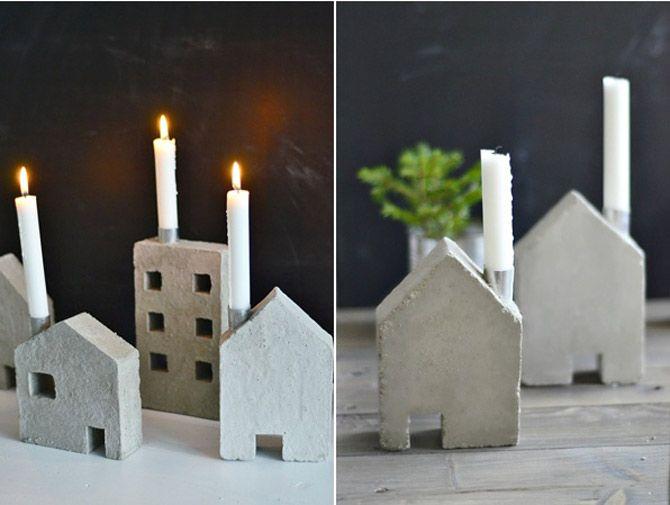 Concrete Candle Holder by Sinnenrausch / DesignVillle.cz