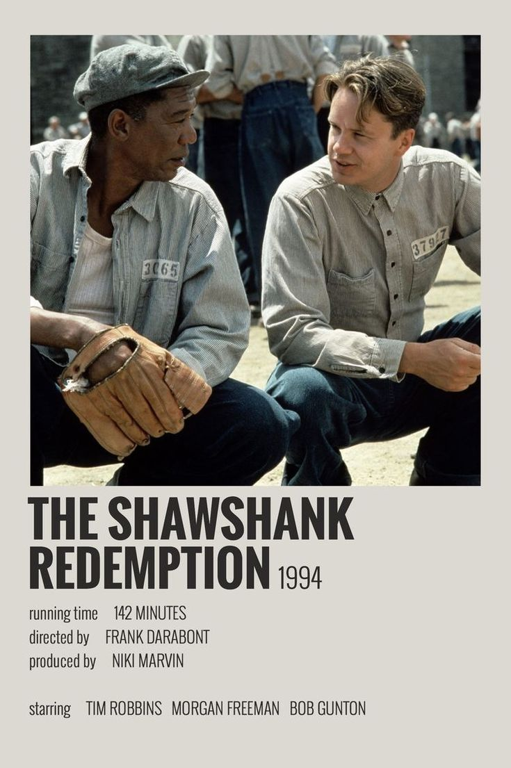 The Shawshank Redemption by Maja in 2020   Movie poster ...