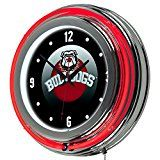 Georgia Bulldogs Neon Clocks