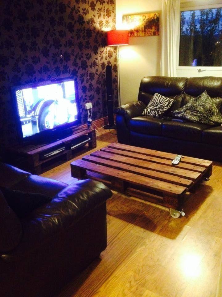Mesa de centro - sala de estar