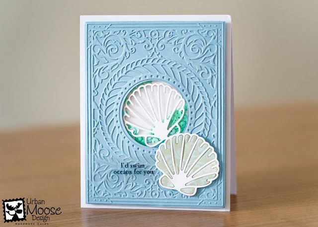 The Cardmakers' Collection - Sea Breeze Shakers | Urban Moose Design - Handmade Cards