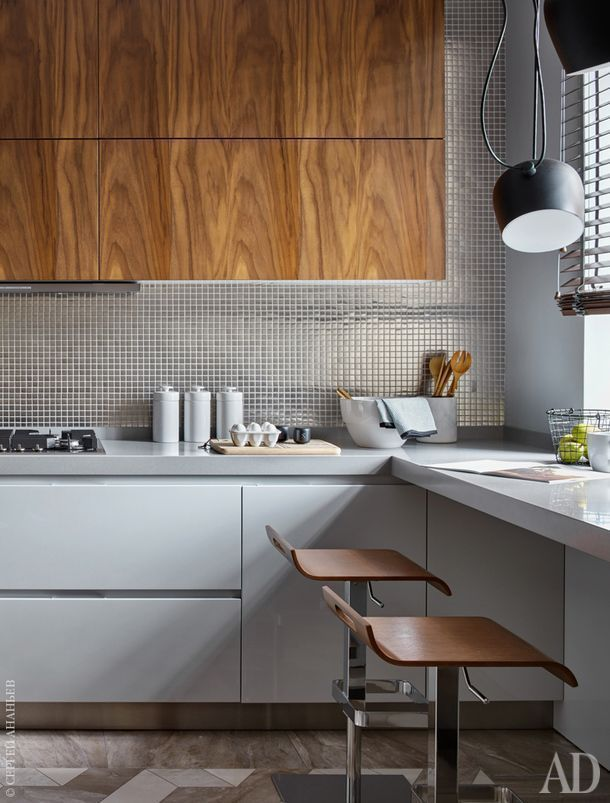 Usa Contemporary Home Decor And Mid Century Modern Lighting Ideas From Delightfull Http Www Deligh Modern Kitchen Interiors Kitchen Interior Modern Kitchen
