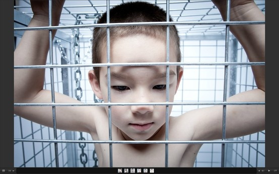 naked young boys in cages