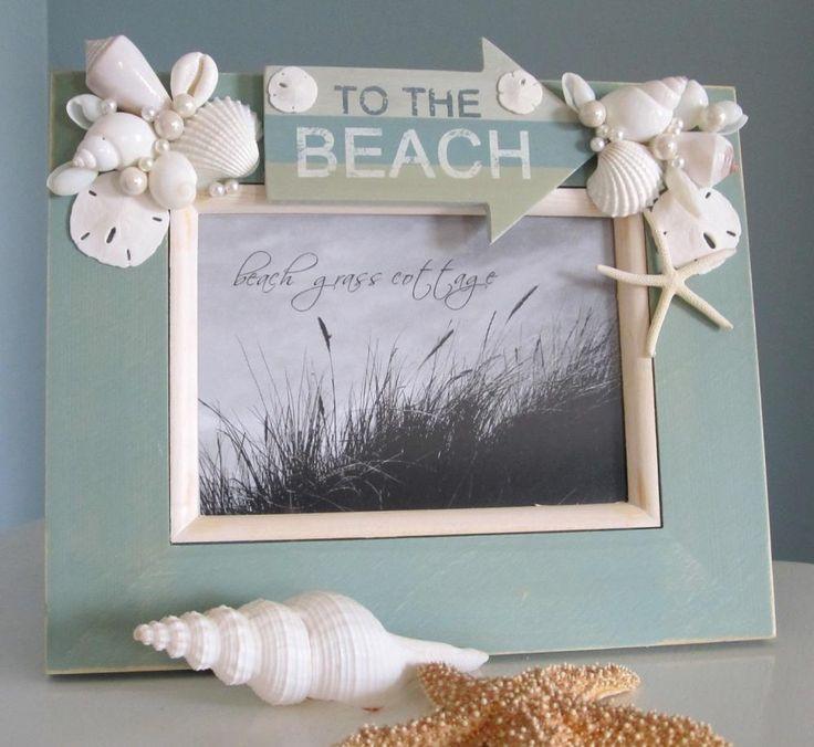 Beach Decor Seashell Frame