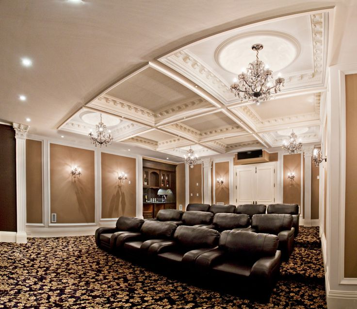 Glitzy Home Movie Theater, could stay at home, feel relaxed and enjoy own movies screening.