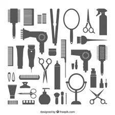 Resultado de imagen para tipografias de peluquerias para diseño vintage
