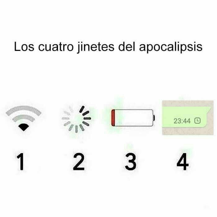 El 3 y el 4 son los que si se necesitan para el Apocalipsis.