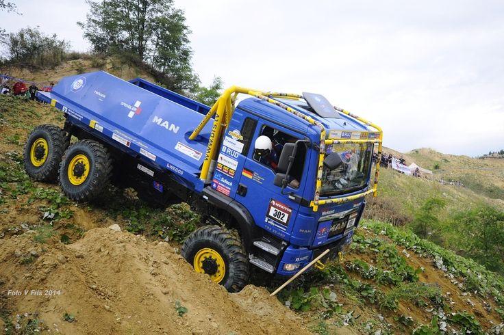 Europa Truck Trial Drnovice 2014 (foto V. Friš) - Fotogalerie - Europa Truck Trial - Sedlčany