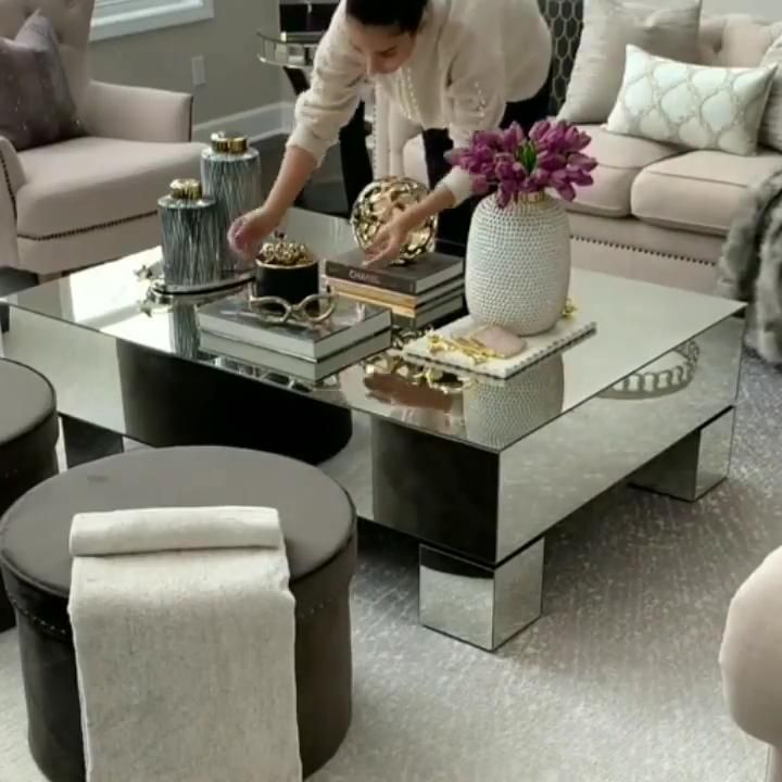 Coffee Table Decor Living Room, Center Table Decoration For Living Room