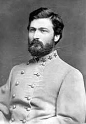George Washington Custis Lee (1832 – 1913), was the eldest son of Robert E. Lee & Mary Anna Custis Lee. His grandfather—George Washington Custis—was the step-grandson & adopted son of George Washington. He served as a Confederate general in the American Civil War, primarily as an aide-de-camp to President Jefferson Davis, & succeeded his father as president of Washington & Lee University in Lexington, Virginia.