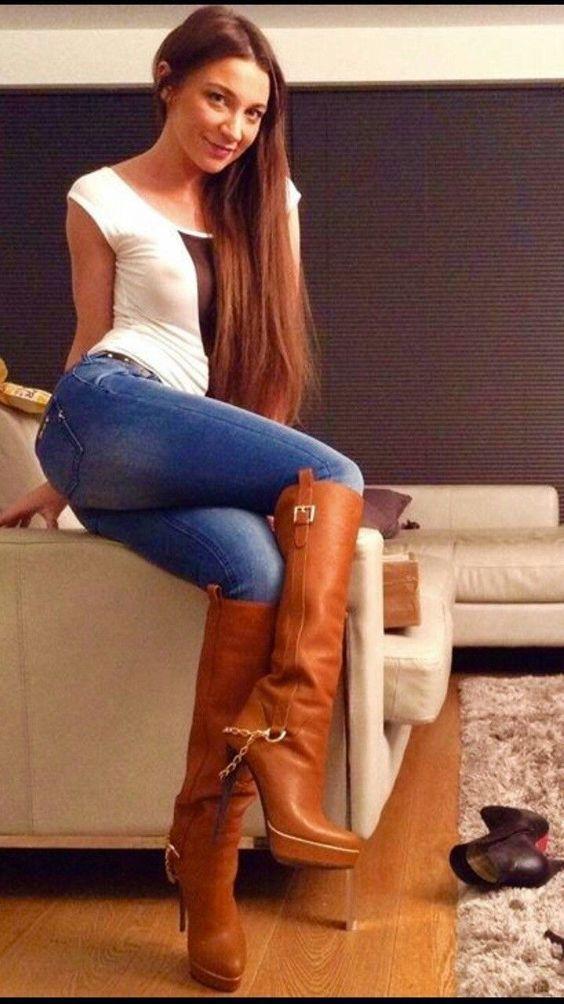 # Jeans # Damen # Mode # Frauen # Damenmode # Mädchen – Frauen Schuhe