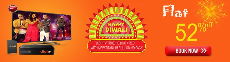 Now DISH TV TRUE HD BOX + REC WITH NEW TITANIUM FULL ON HD PACK UPTO 52% off  visit now www.mydthshop.com